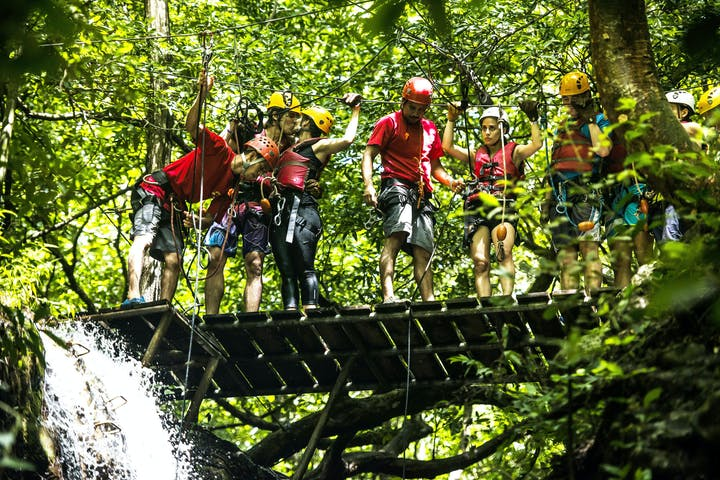 Waterfall Canyoning Half Day Tour