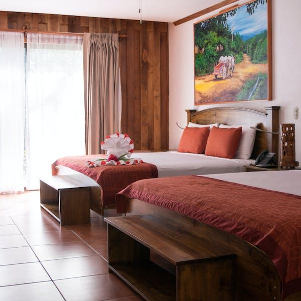 Hotel Hacienda Guachipelin legacy suite