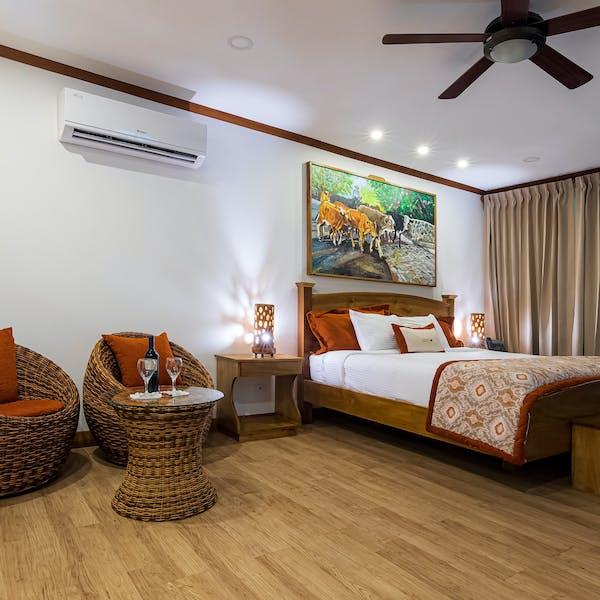 Hotel Hacienda Guachipelin suite