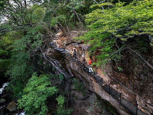 Andaz Papagayo to Hacienda Guachipelin Adventure