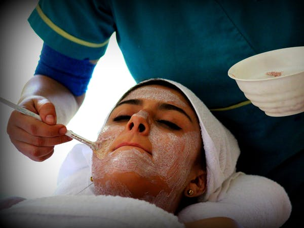 facial at Simbios spa