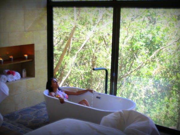 Bath at spa