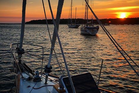 Bassets Island Sunset