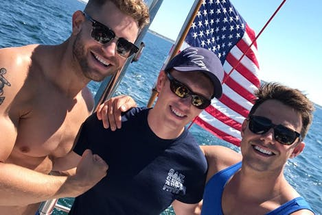Jaymes Vaughan and Jonathan Bennett have an Americana Moment