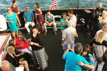 People dancing on cruise