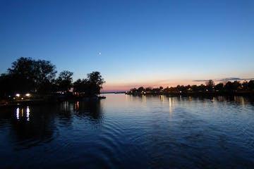 Buffalo River at dusk