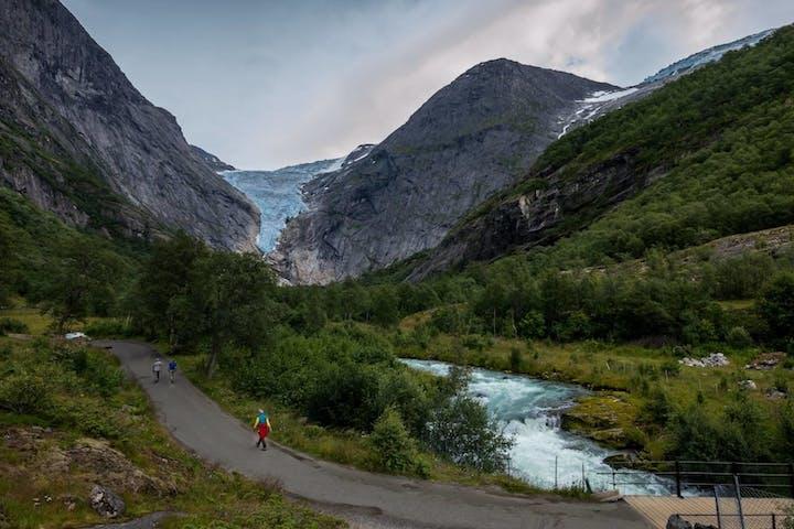 A path through the mountains