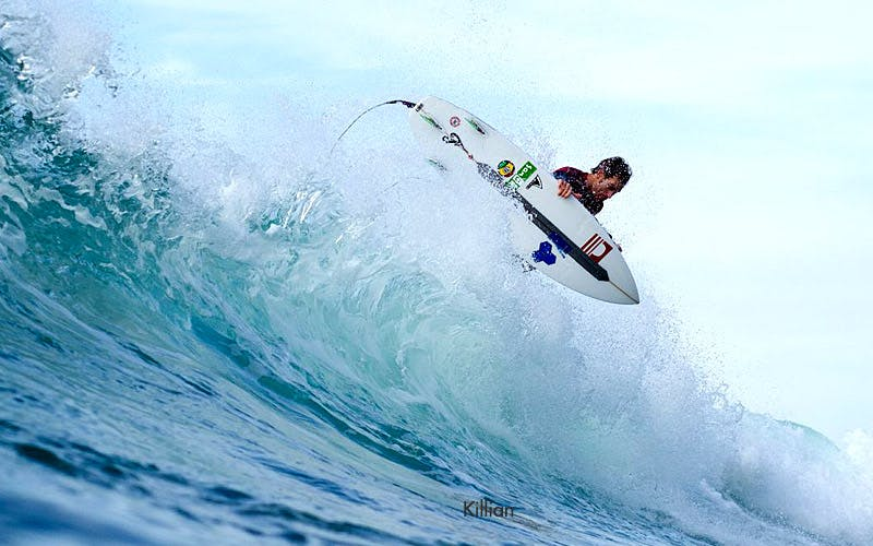 Surf instructor Killian
