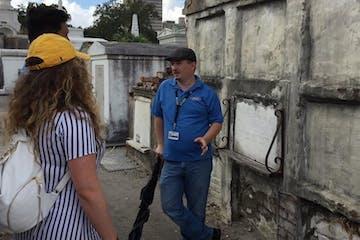 A cemetery tour