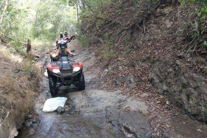 ATV in hills