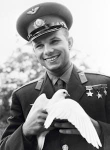 Yuri Gagarin smile