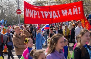 May 1 Demonstrations in Russia