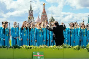 A capella fest in Moscow