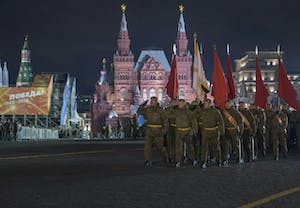 Rehearsal of Parade Moscow