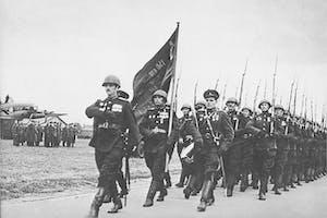 Victory parade 1945