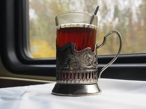 Russian tea holder