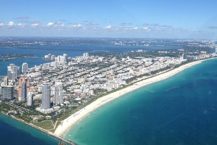 Ariel View of Miami
