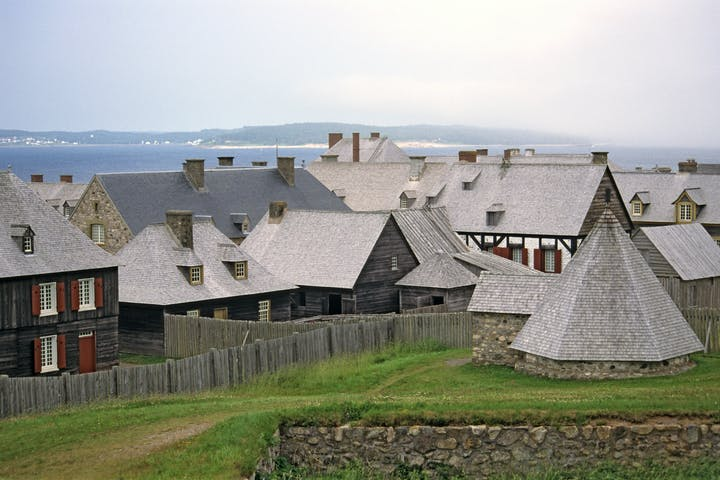Fortress Louisbourg National Historic site, Cape Breton, Nova Scotia, Canada
