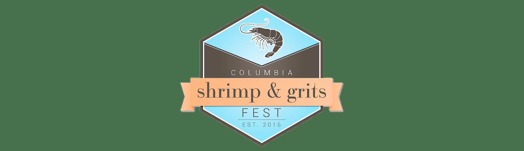 Columbia's Shrimp & Grits Fest Logo