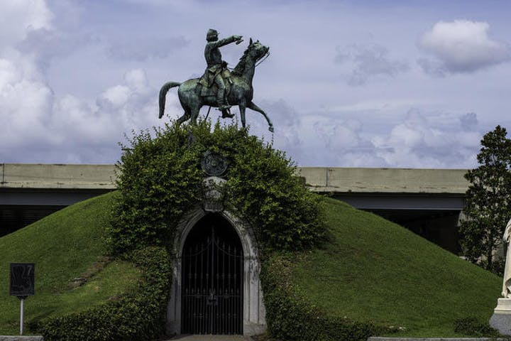 Metairie Cemetery Hill