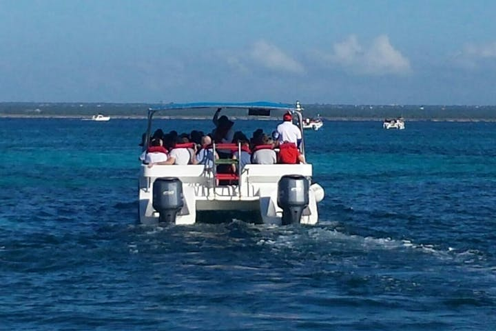 Saona Island Vip Trip Catamaran And Speed Boat Punta Cana Party Boat