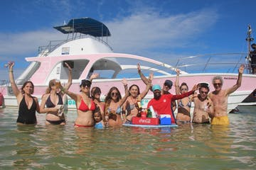 Pachanga party boat & snorkel cruise