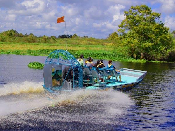 Airboat Wilderness Rides Airboat Rides Vero Beach Florida
