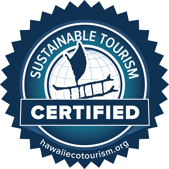 Hawaii Ecotourism Association Sustainable Tourism Certified