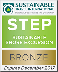 Sustainable Shore Excursion Certificate