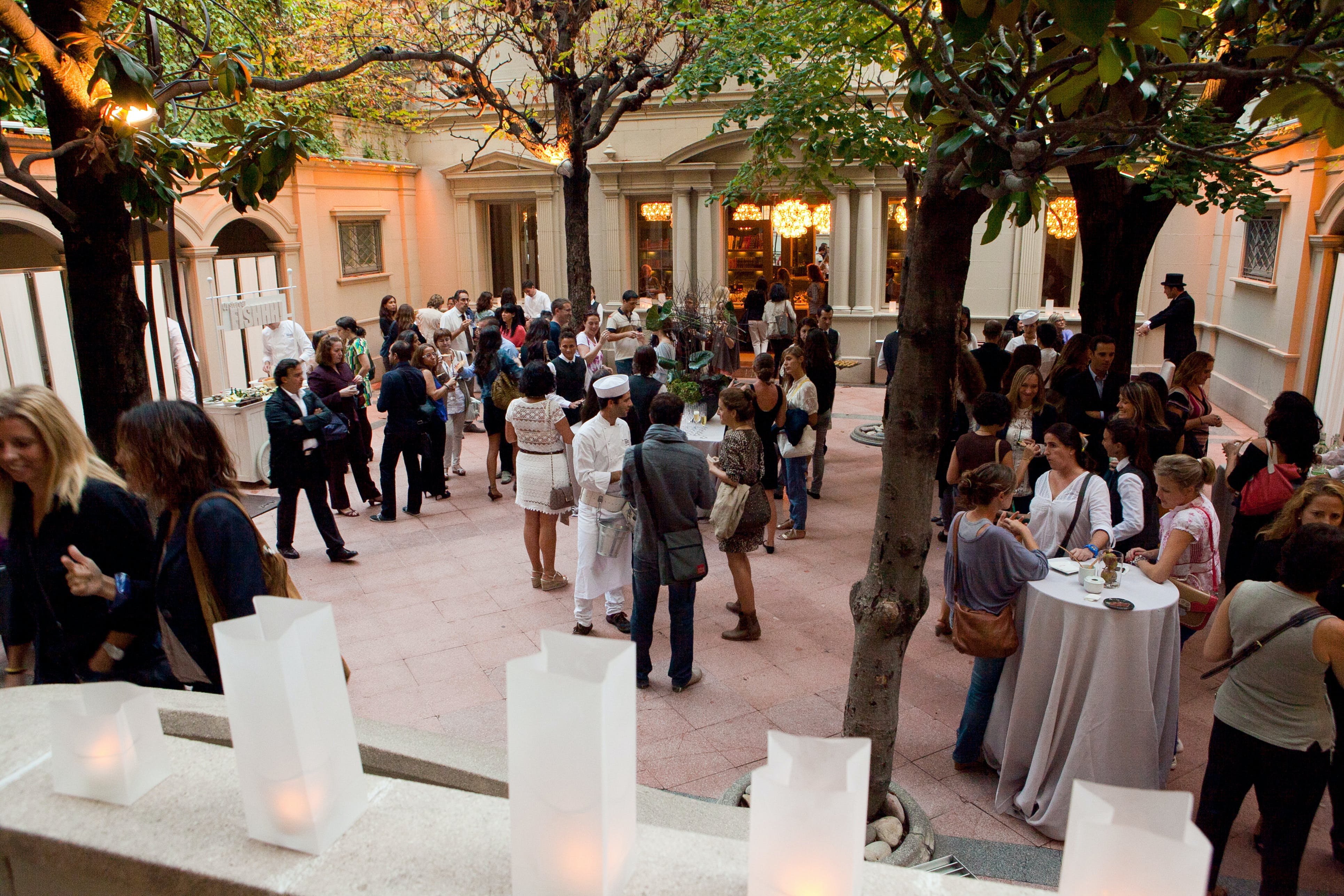 Group event in Barcelona