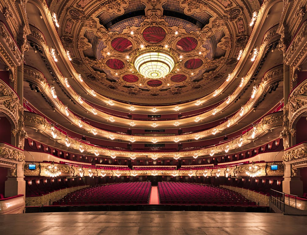 Liceu theater in Barcelona