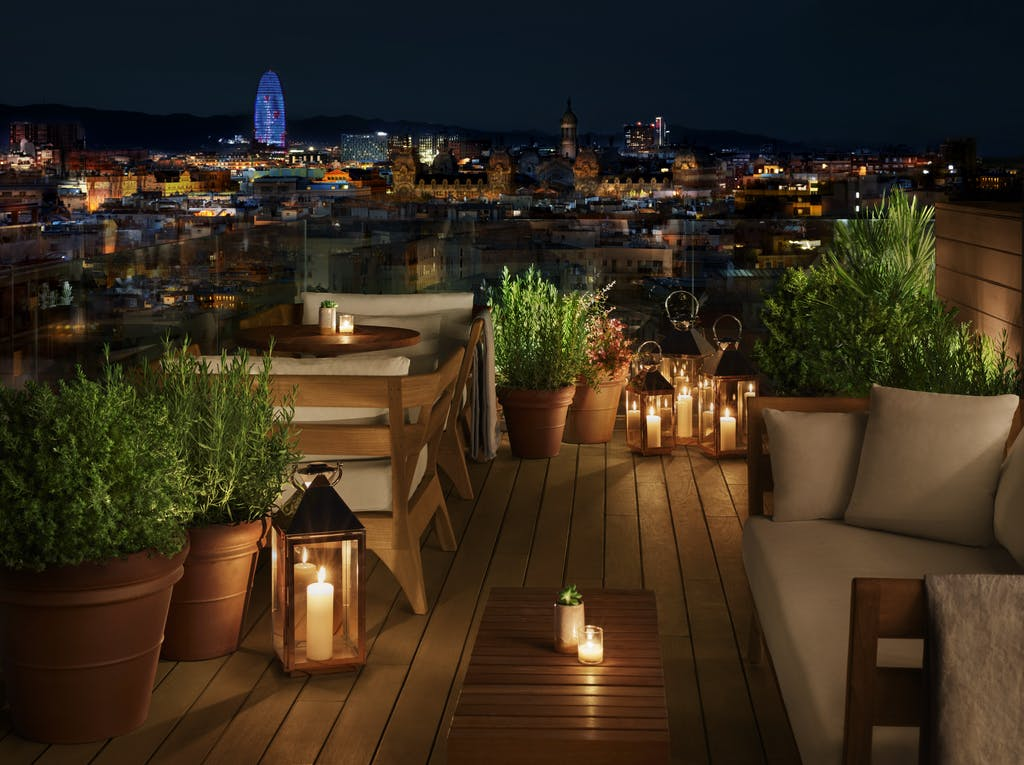 Barcelona Best Rooftop Bars Barcelona Eat Local Food Tours