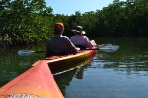 Kayakers on water in Key West, FL