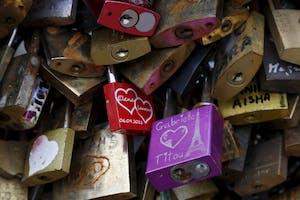 Locks of Love Fence Portland Maine