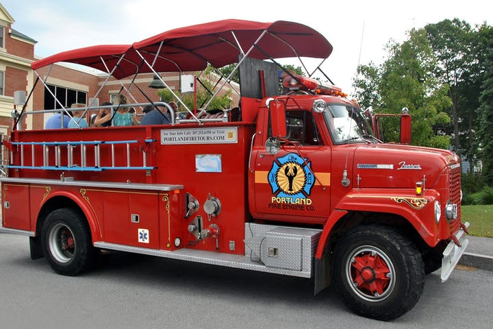 Portland Fire Engine truck
