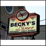 Becky's Diner Logo