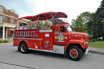 Portland Fire Engine Co. Red Tour Truck
