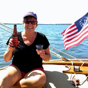 Sailing Charter with a Beer Tasting Cruise option, great summer weekend getaway plan