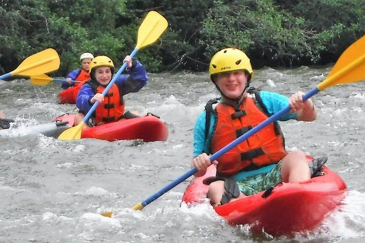 Guided River Kayaking