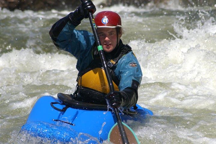 Upper West river run on kayak