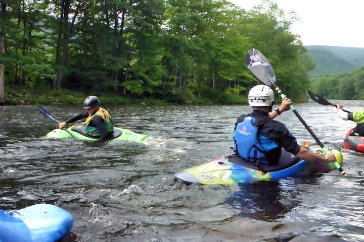 sit-inside kayaks