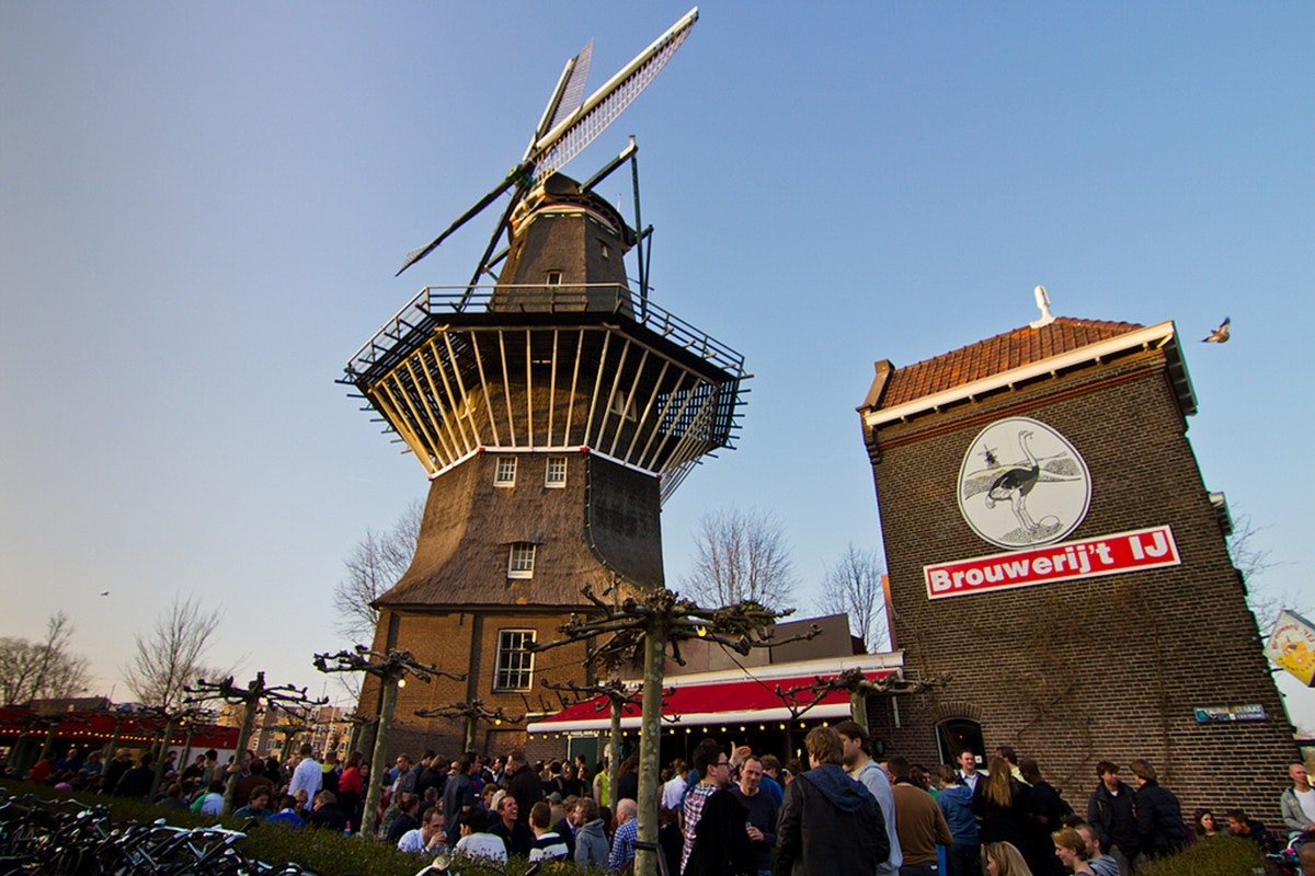 Brouwerij 't IJ - One of the Top 5 Amsterdam Beer Bars