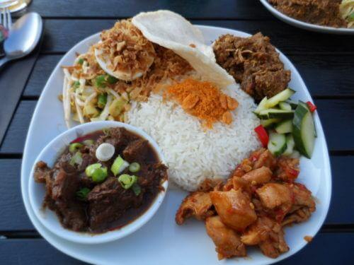 Food at Cafe Kadijk