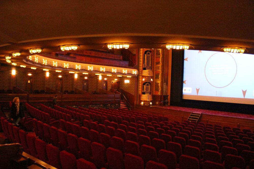 Main Auditorium at the Tuschinsky Theatre
