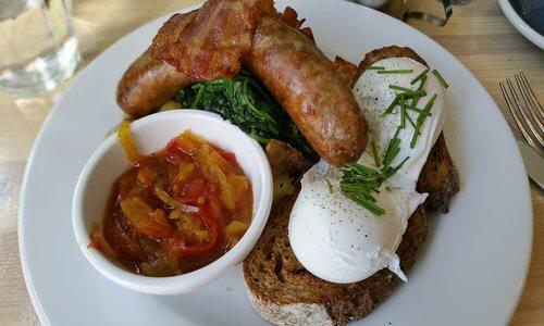 Breakfast in Amsterdam at Bakers & Roasters