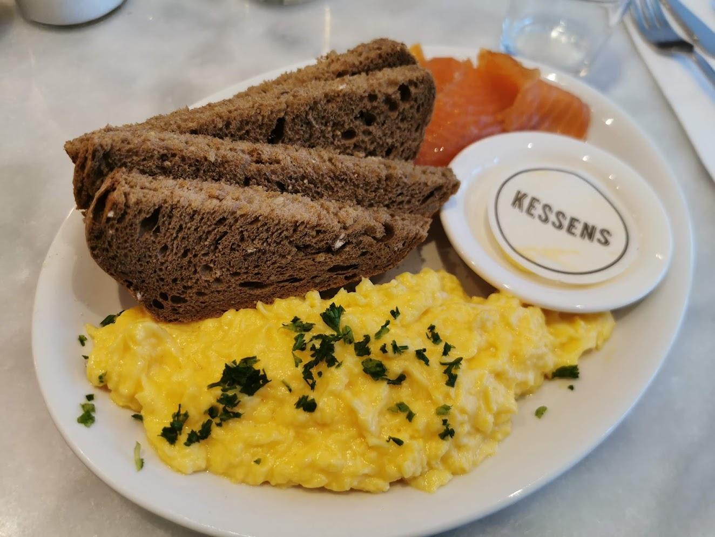 Breakfast in Amsterdam at Kessens
