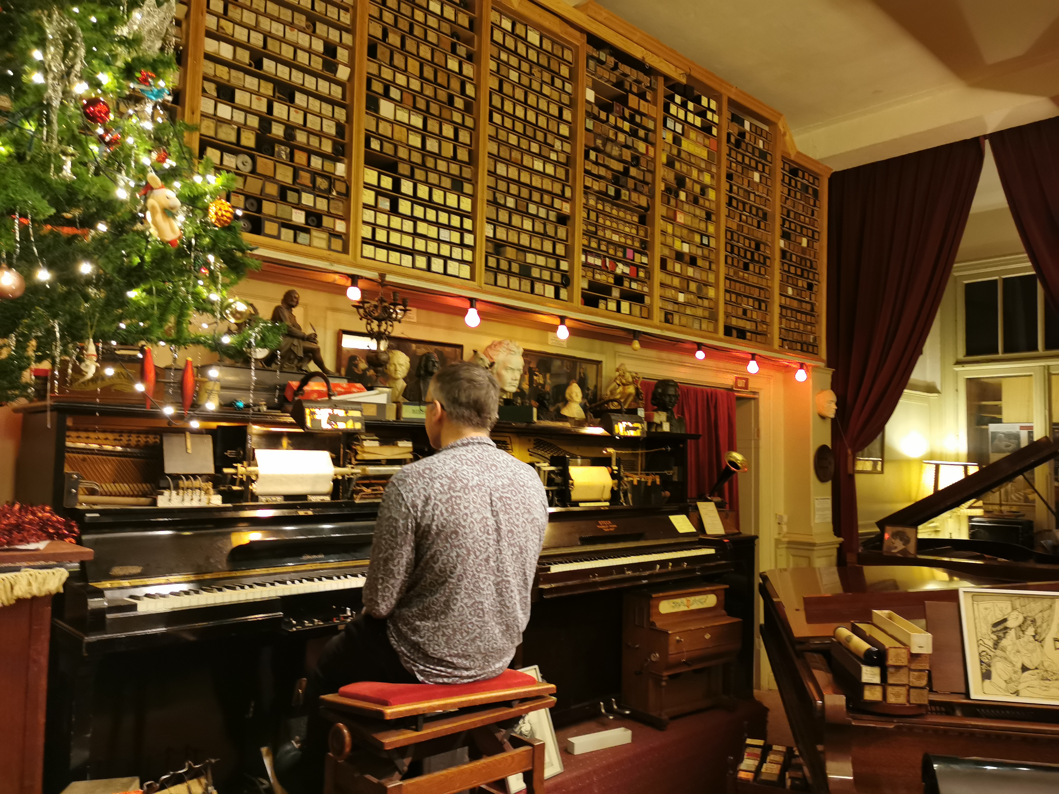 Pianola Museum in the Jordaan