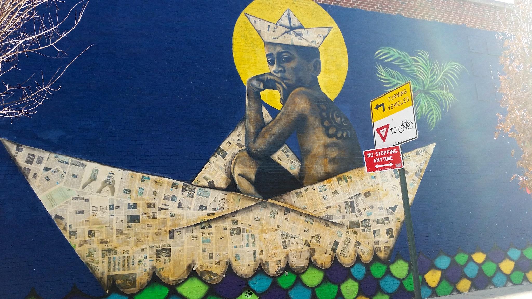 Adrian Roman aka Viajero's Libre Mural