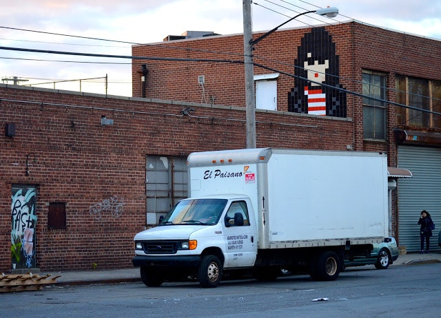Joey Ramone Invader in Bushwick