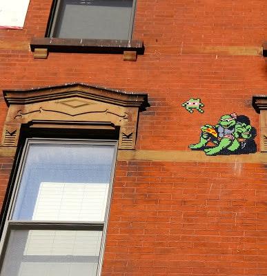 Ninja Turtle Invader